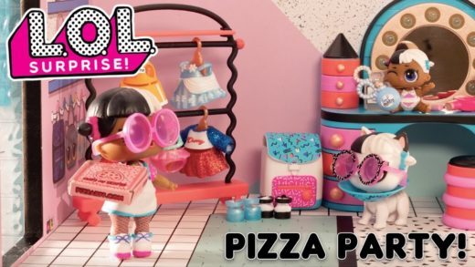 LOL Surprise! | Stop Motion Cartoon | Pizza Party!