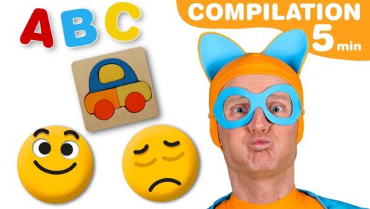 Learn Emotions For Kids - ABC Kids Song nursery rhymes - Compilation Video for Kids