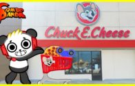 FOODporn.pl Let's Play Chuck E Cheese Arcade Games ! Pizza + Fidget Spinner Prizes !