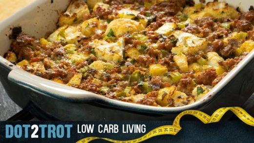 Low Carb Sausage Stuffing For Thanksgiving