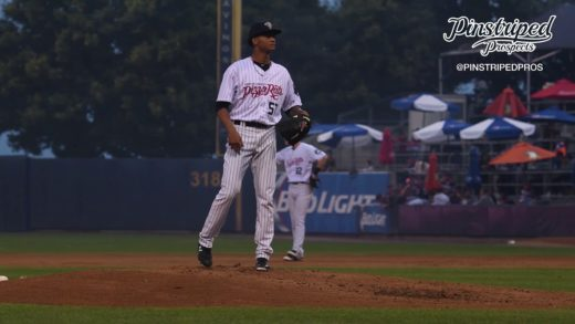 Luis Gil, Right Handed Pitcher, Staten Island Pizza Rats,, August 31, 4K Video