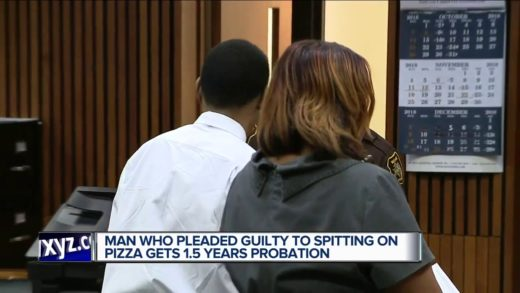 Man sentenced to 18 months' probation for spitting on pizza at Comerica Park