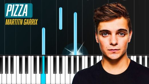 """Martin Garrix - """"Pizza"""" Piano Tutorial - Chords - How To Play - Cover"""
