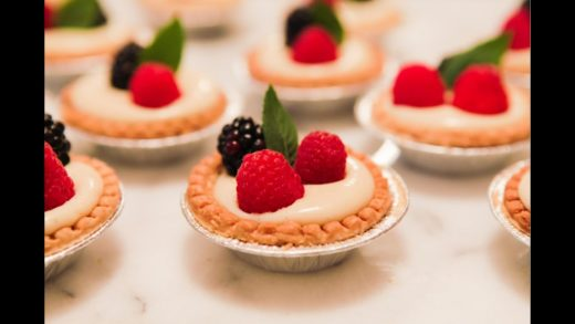 Mini Fruit Tarts - Vanilla Custard w/ Berries