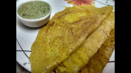 Moong Dal Dosa | Easy To Make Dosa Recipe | Popular South Indian Breakfast Recipe