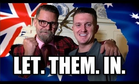 (NEW)TOMMY ROBINSON IS TO ADDRESS USA CONGRESS AND TOUR AUSTRALIA  #TheDeplorables