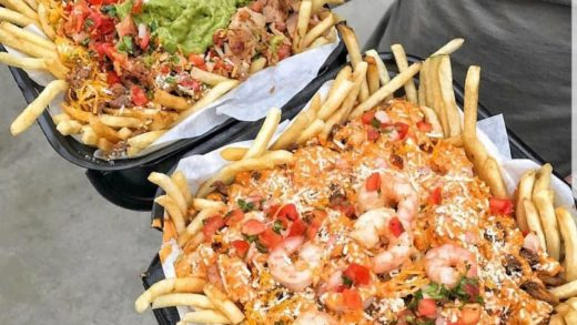 Need a break from your black friday shopping? Come recharge with some Supreme or Angel Fries! Customize yours with extra fries, shrimp, guacamole, sour cream and your other favorites  :  . . .                           ...