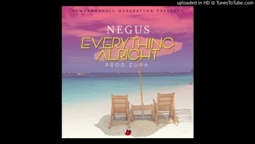 Negus-Everything Alright (Prod by Zupa) [Marvellus Records]