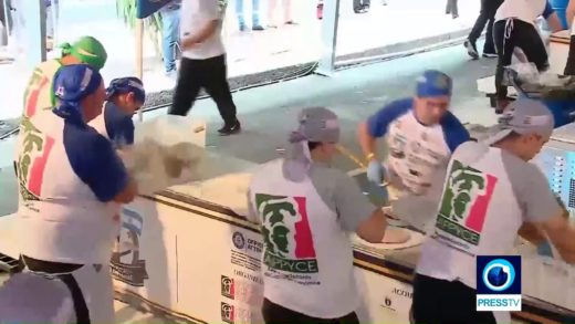 New Guinness world record in Argentina: 11,000 pizzas made in just 12 hours