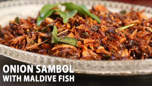 Onion Sambol With Maldive Fish | Mallika Joseph Food Tube