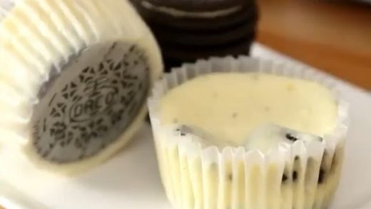 Oreo Cheesecake Cupcakes Recipe!  Love Food? Follow us:  vc:  Tag a Dessert Lover!...
