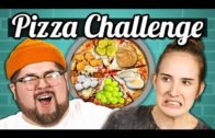 FOODporn.pl PIZZA CHALLENGE!!! (Gross Toppings) | College Kids Vs. Food