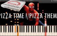 FOODporn.pl PIZZA TIME !/PIZZA THEME – Spider-Man 2 The Game OST (Synthesia Piano Tutorial)+SHEETS&MIDI
