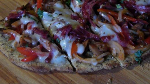 Paleo Pizza - Thin Crust