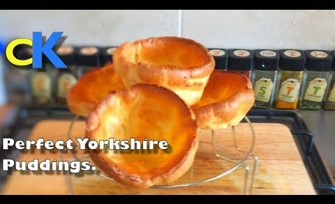 Perfect Yorkshire Pudding Recipe | Easy Yorkshire Puddings