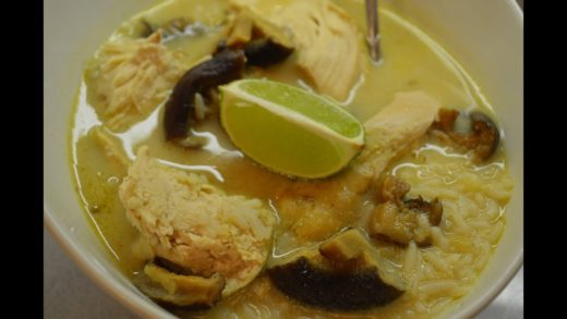 Piri Piri Ginger Coconut Chicken Soup: Cooking with Kimberly