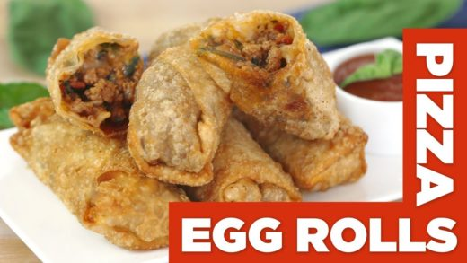 Pizza Egg Rolls!?  – Eat The Pizza! #15