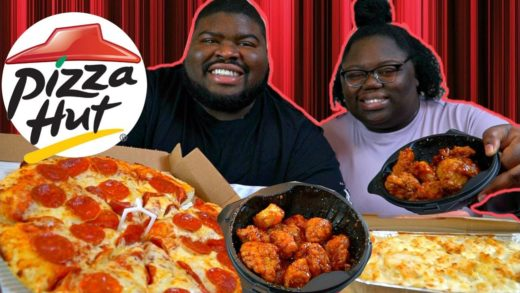 Pizza Hut Mukbang