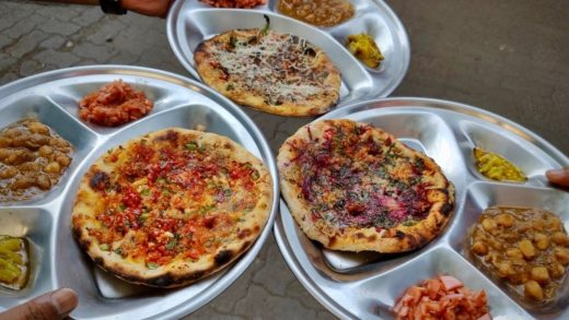 Pizza Kulcha, Chinese Kulcha | 150 Types of Kulchas at Small Dhaba in Mumbai | Indian Street Food