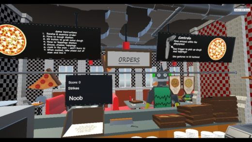 Pizza Time! A VR Pizza Making Game