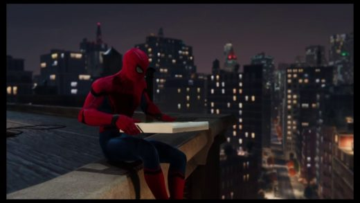 Pizza Time - Spiderman PS4