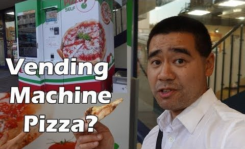 Pizza Vending Machine in Hiroshima Japan