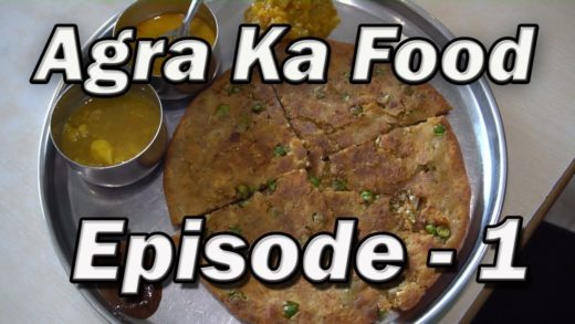 Places to eat in  Agra, India   Day 1 to Day 3 Part 1   Agra street food India