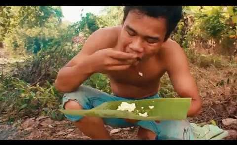 Primitive Technology Cooking steam egg