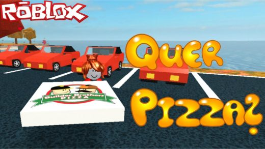 ROBLOX - Trabalhando Na Pizzaria (Work at a Pizza Place) Ep. #01