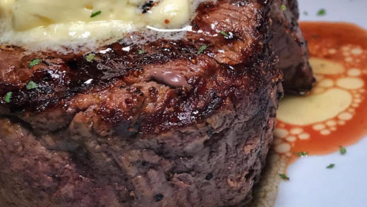 Really like the truffle butter-to-steak ratio here. :  / :  ...