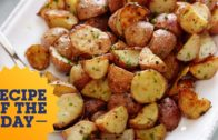 FOODporn.pl Recipe of the Day: Ina's 5-Star Garlic Roasted Potatoes   Food Network