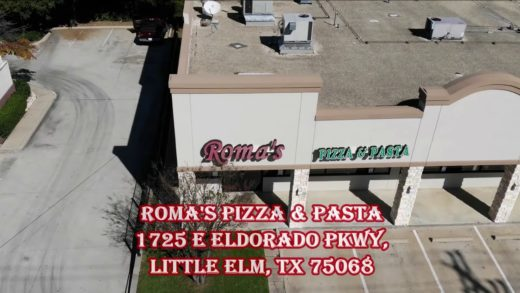 Roma's Pizza and Pasta Commercial.