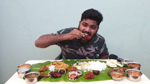 SOUTH INDIAN NON-VEG | FULL MEALS | EATING CHALLENGE
