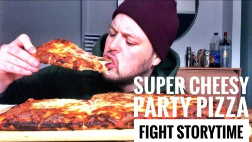 SUPER CHEESY PARTY PIZZA - FIGHT STORYTIME