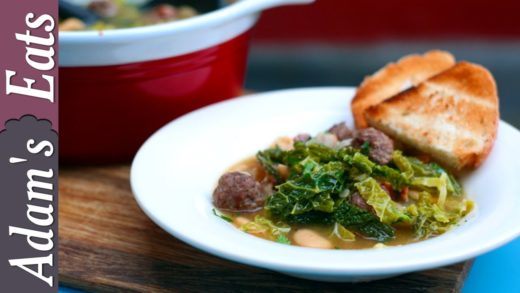 Sausage casserole with cabbage and butter beans | Comfort food recipes