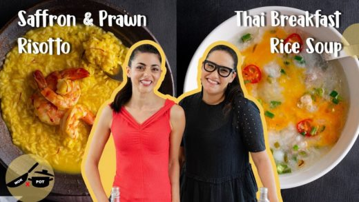 "Silvia & Marion""s Rice dishes! Silvia's Risotto and Marion's rice soup WOK x POT Ep 8"