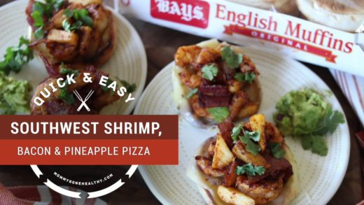 Southwest Shrimp, Bacon & Pineapple Pizza