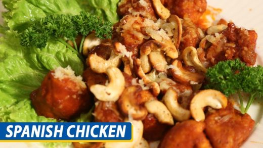 Spanish Chicken Recipe | Mallika Joseph Food Tube