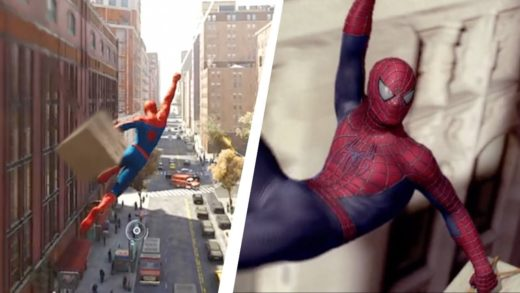Spider-Man PS4 Recreating Spider-Man 2 Pizza Time scene