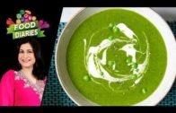 FOODporn.pl Spinach And Peas Soup Recipe by Chef Zarnak Sidhwa 15 November 2018