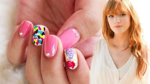 Summer Ready Nails ♥ Bella Thorne Inspired