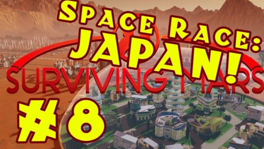 Surviving Mars: Space Race -- Stormy Japan! -- Episode 8