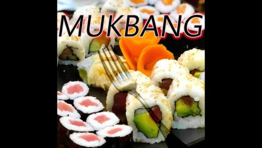 Sushi mukbang and why I'm grateful!