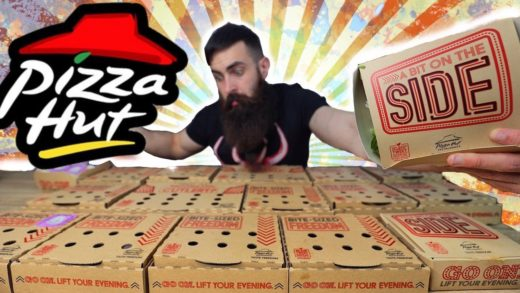 THE FULL PIZZA HUT SWEETS & SIDES MENU CHALLENGE | BeardMeatsFood