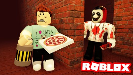 THE MAZE OF TERROR!! Work at a Pizza Place - Roblox Halloween