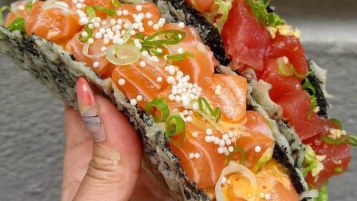 Taco Tuesday  meets Sushi  and the result is delicious.  Tag your  friends.  By  ...