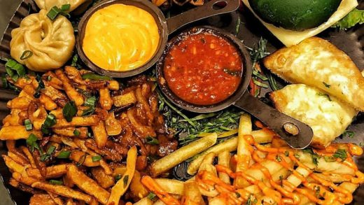 Tag someone with whom you want to share this platter  Cheesy Fries & Honey Chilli Potato yum yum  . . .  . . Snapchat  : Foodiesince96  Follow Foodiesince96 for more updates...