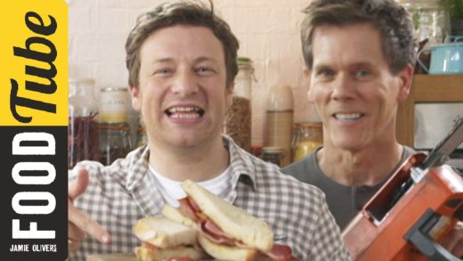 The Ultimate Bacon Sandwich | Kevin Bacon & Jamie Oliver