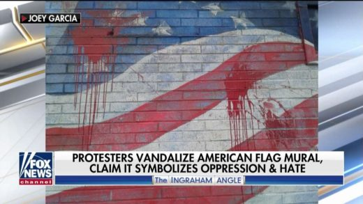 'They Didn't Want a Flag': Protesters Vandalize Patriotic Mural Painted on NY Pizza Shop