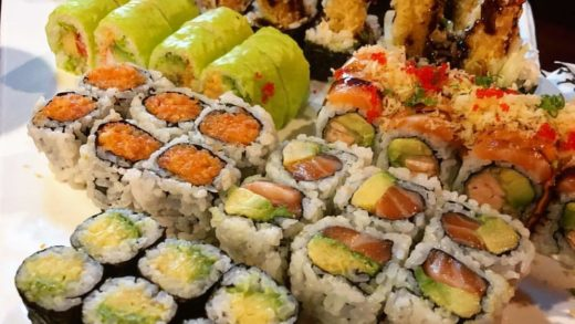 Things 2 do today: VOTE & eat sushi                : ...